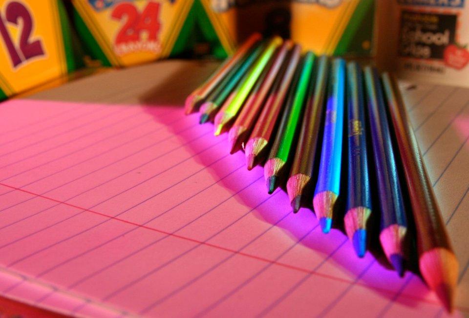 foto matite colorate