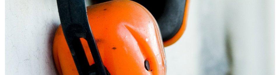 foto cuffie protezione olympus arancioni