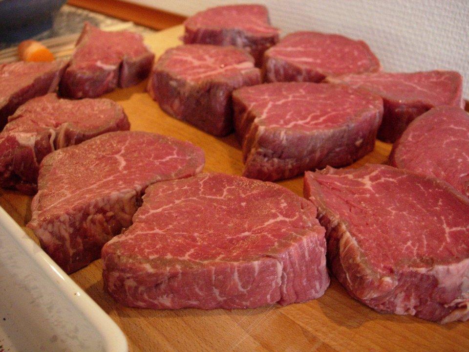 foto tagli di carne fresca