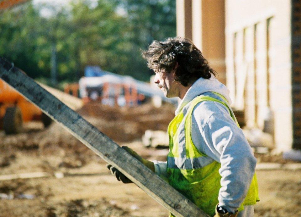 foto lavoratore edile