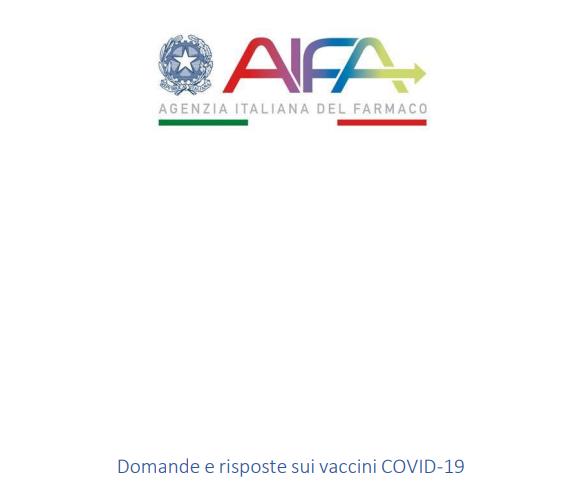 PDF delle FAQ di AIFA